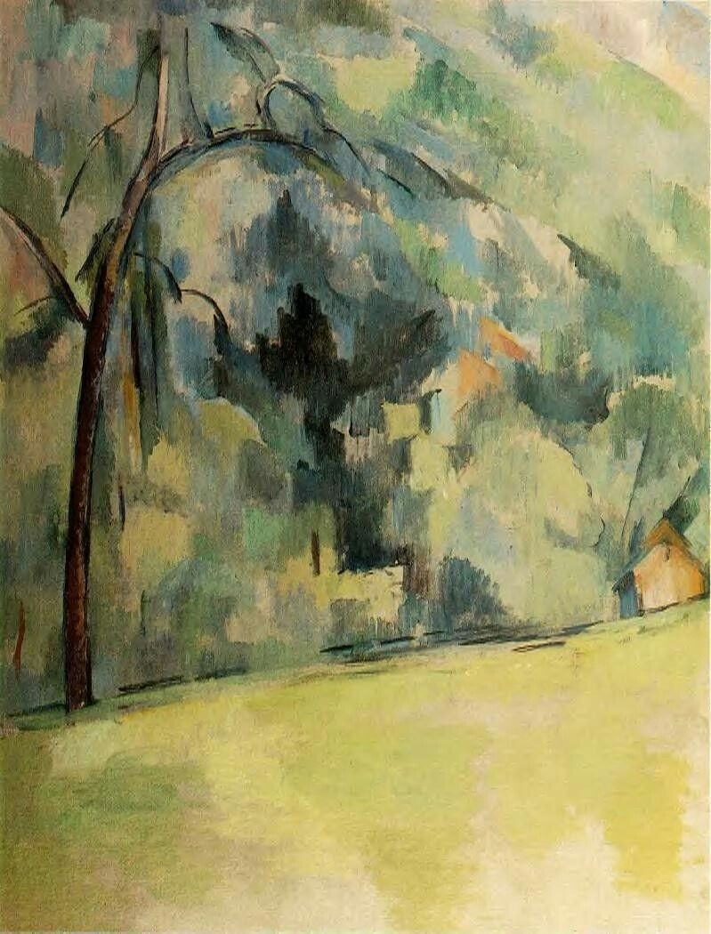 Paul Cezanne Le Matin En Provence Circa 1900 1906 Paul Cezanne Paul Cezanne Paintings Cezanne