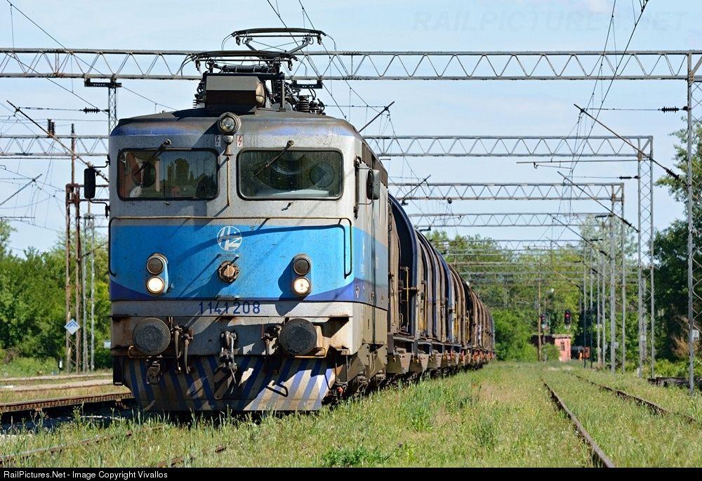 1141 208 Croatian Railways 1141 At Banova Jaruga Croatia By Vivallos Croatia Croatian Rail Transport