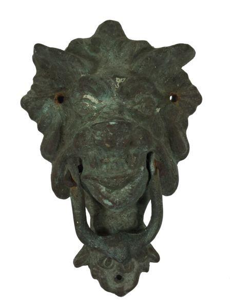 Antique Gargoyle Door Knocker - 1 of 2