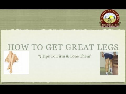 How To Get Great Legs on the Saturday Morning Diet