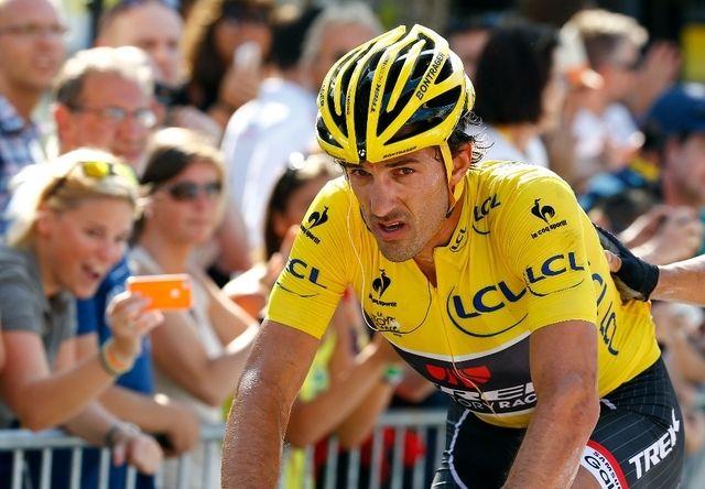 Abandon de Fabian Cancellara