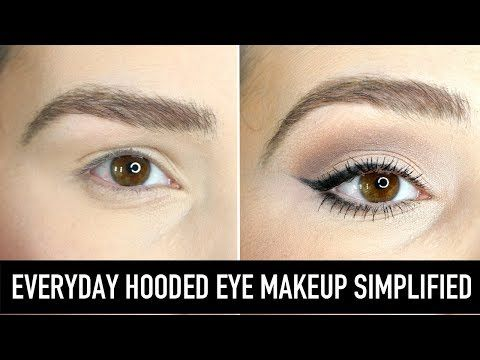 Learn how to apply eyeshadow, eyeliner, mascara and brow makeup for hooded eyes….