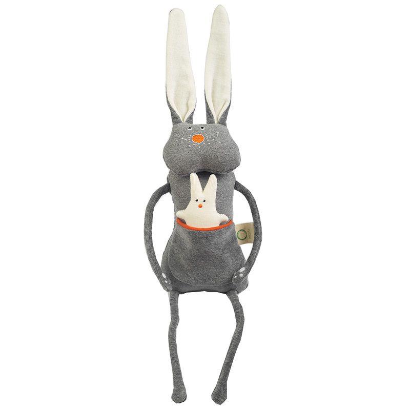 Soft toy biologico: coniglietto