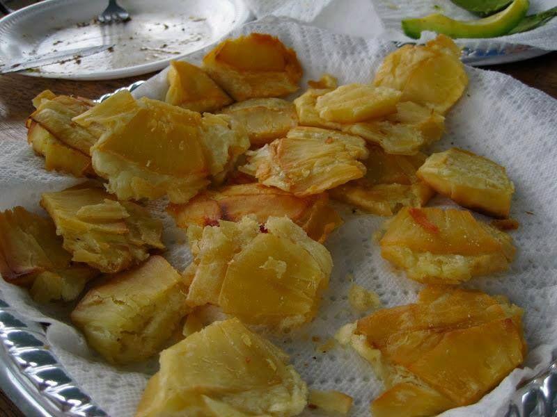 tostones de pana | Comida Sabrosa de Puerto Rico | Pinterest