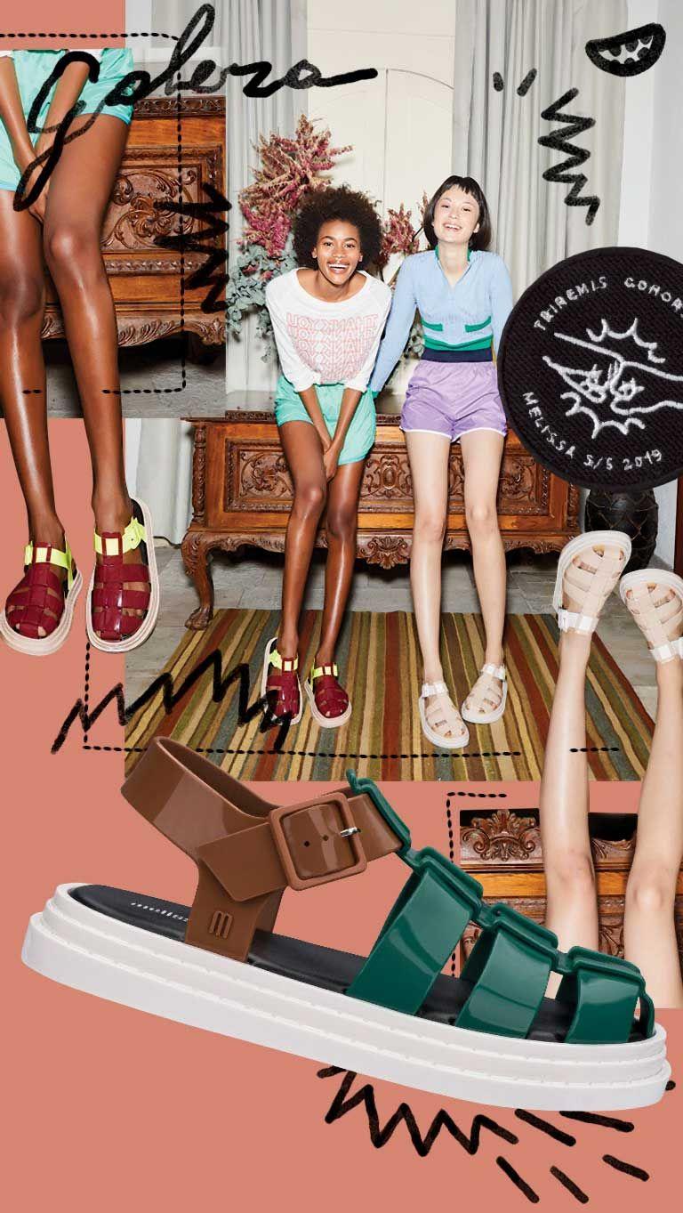 Melissa sapatos mulher geléia sapatos 2020 novas sandálias