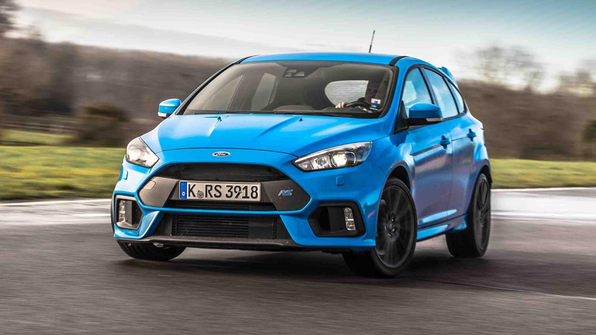 Ford Focus RS… non c'è da commentare, solo da sgranare