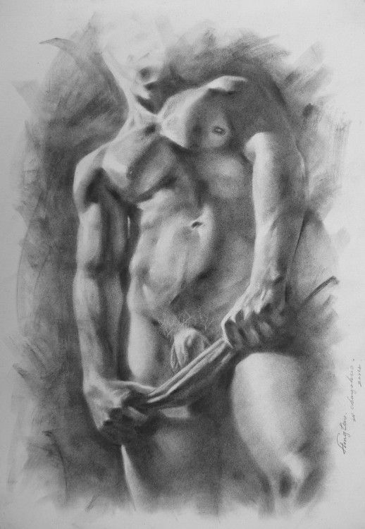 from Jacob gay pencil men