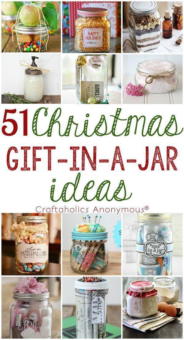 51 christmas gift in a jar ideas christmas gifts jar and diy ideas 51 christmas gift in a jar ideas so many great diy ideas for handmade neighbor solutioingenieria Images