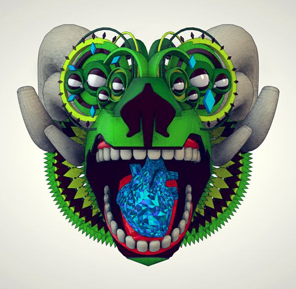 Artificial Mythology by Diligence , via Behance