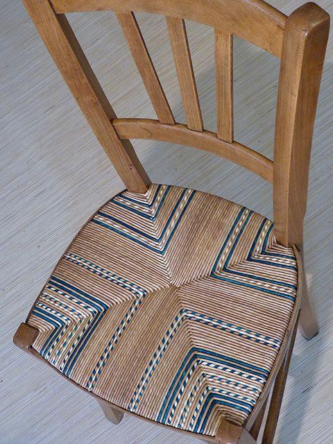 les 25 meilleures id es de la cat gorie chaise paille sur pinterest tapisser une chaise. Black Bedroom Furniture Sets. Home Design Ideas