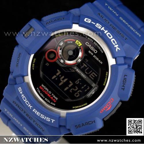 Casio G-Shock Solar Men In NAVY Mudman 200M Watch G-9300NV-2 ... 241ebe6316dd