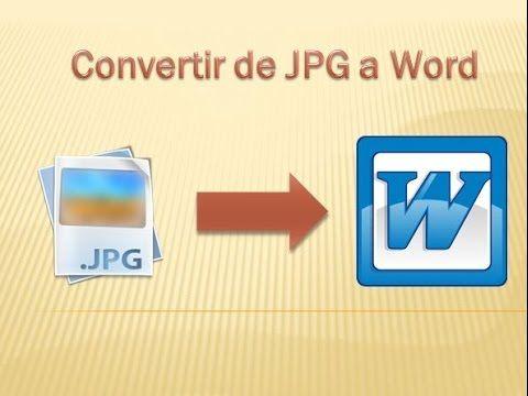 Como Convertir Una Imagen Escaneada A Texto Word Sin Programas Fácil Youtube Office Word Words Computer Skills