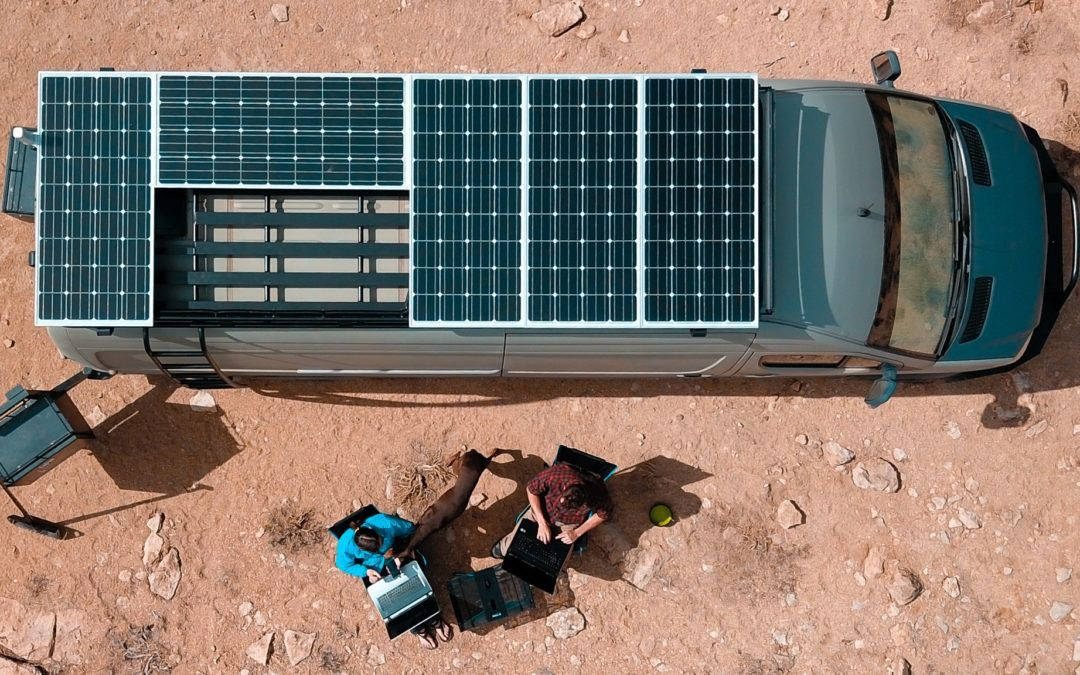 Installing A 4g Cell Signal Booster On Our Diy Camper Van Conversion Diy Campervan Camper Van Conversion Diy Solar