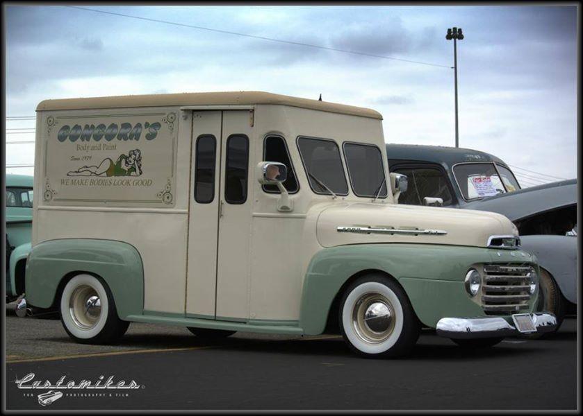 Ford Milk Truck Retro Cars Classic Trucks Cool Trucks