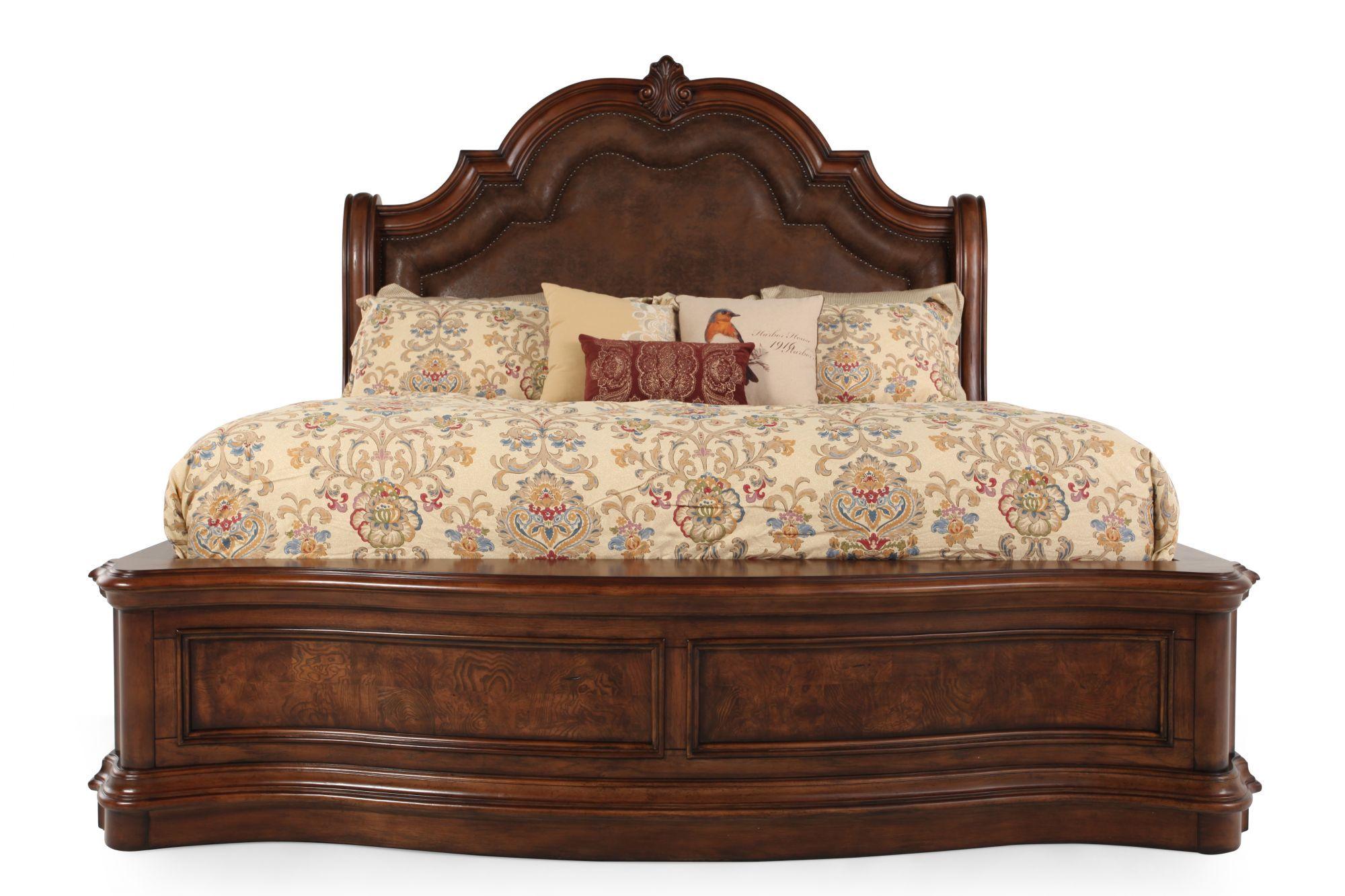Pulaski San Mateo Sleigh Bed Sleigh Beds Queen Sleigh Bed Bed