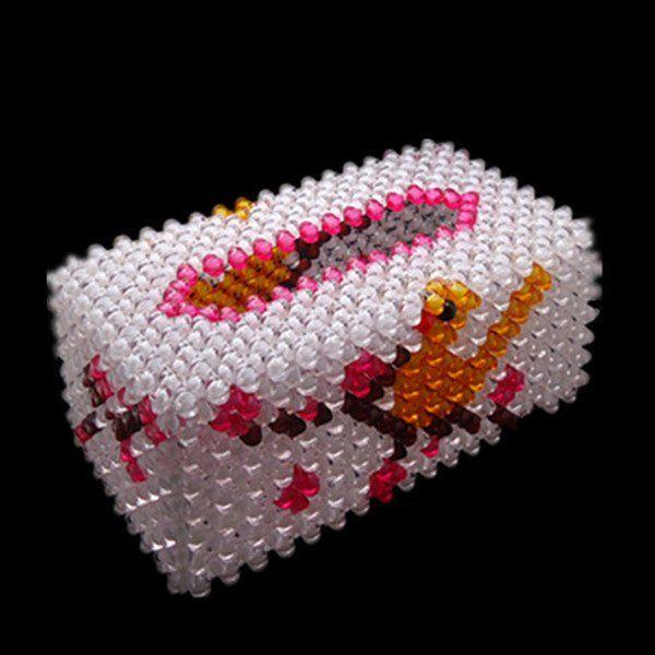 Handmade Decorative Boxes Prepossessing Wholesaleunique Creative Handmade Acrylic Beads Tissue Boxtissue Design Inspiration