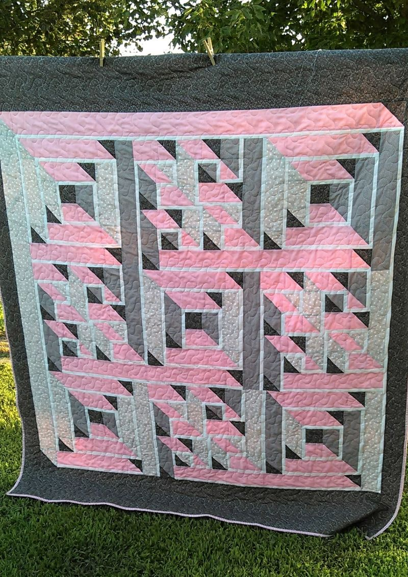 Labyrinth Quilt from Quilting Board member Oofta | Quilts to Make ... : labyrinth quilt pattern - Adamdwight.com