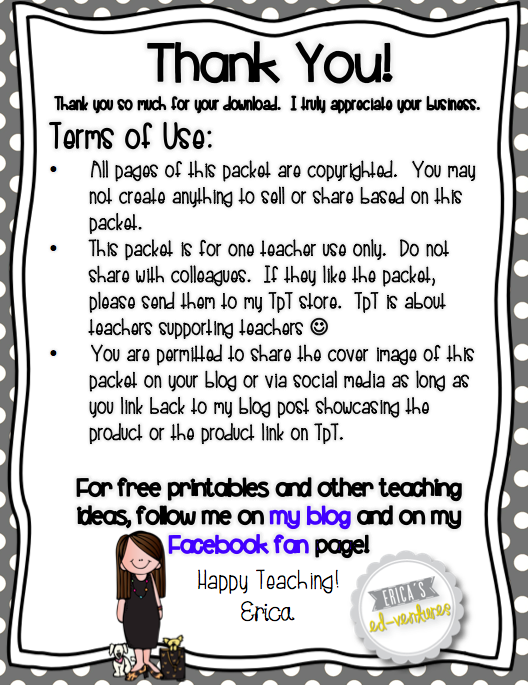 Terms Of Use >> Getting Started on TpT. Terms of use page | TPT stuff
