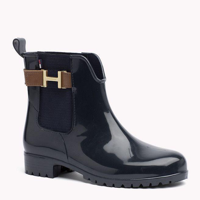 chaussures de sport vente moins chère acheter mieux Tommy Hilfiger Bottine Imperméable - midnight/noce - Tommy ...