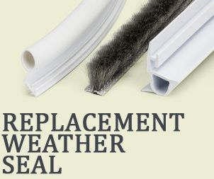 Replacement Weatherstripping For Windows And Doors: Bulb/bubble Seal,  Wool Pile