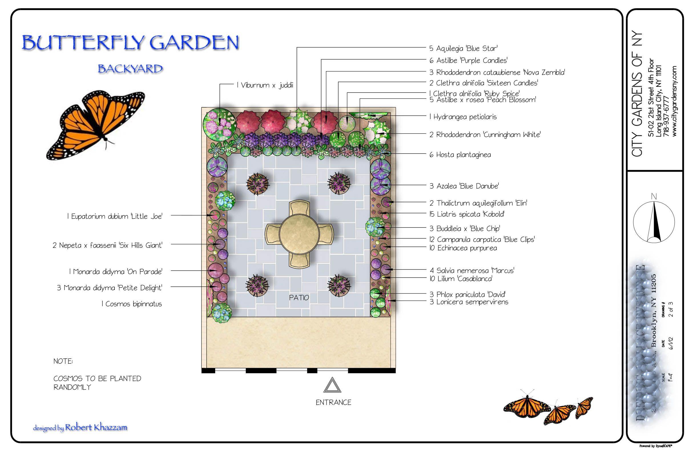 Perfect Butterfly Garden Design Plans | Butterfly Garden
