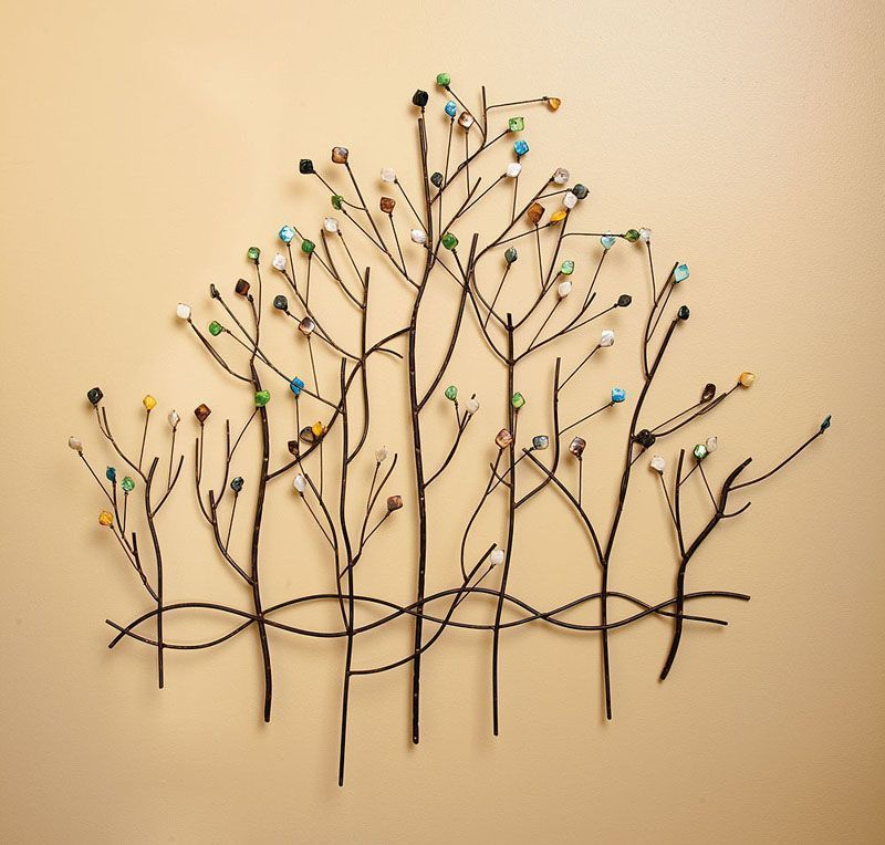 Metal tree wall decor | Metal Trees | Pinterest | Metal tree, Wall ...
