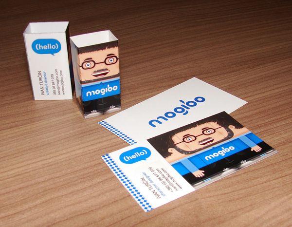 Mogibo Business Card Business Cards Creattica Business Cards Creative Unusual Business Card Vector Business Card