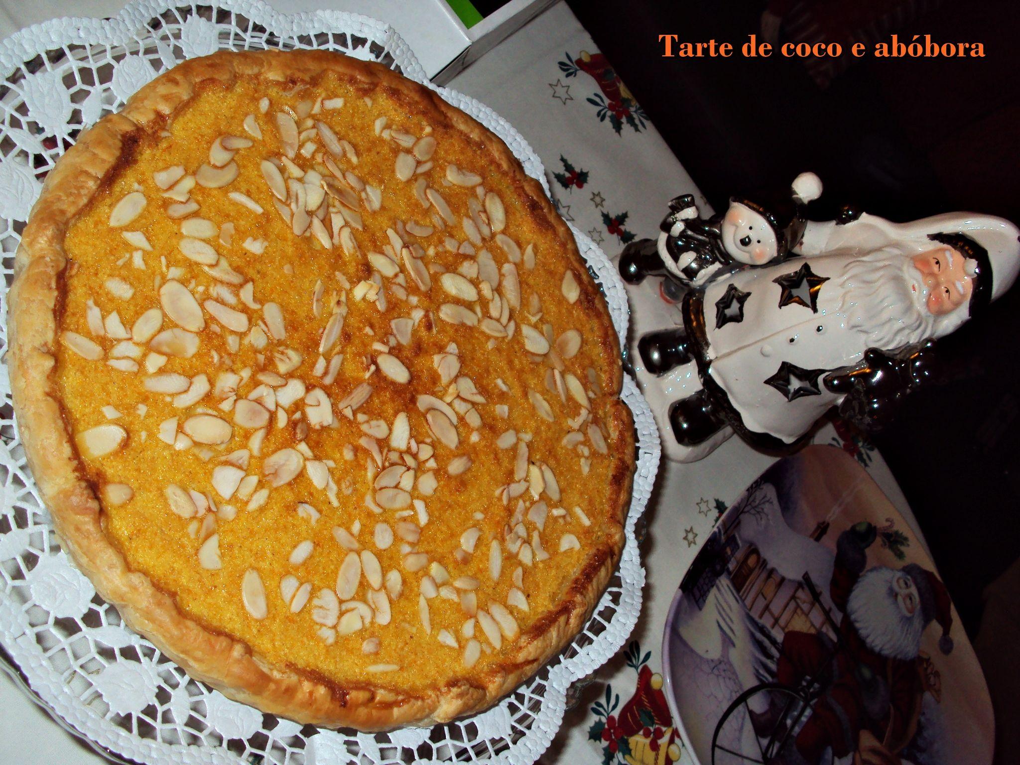 Tarte de Côco e Abóbora Natal'12