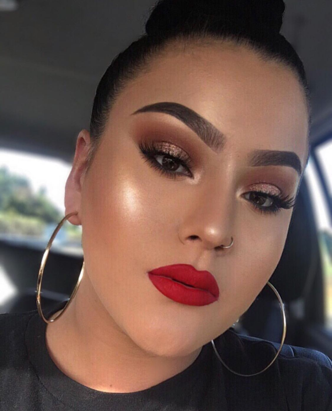 Pin by The Bri Spot on Make Up Red lipstick makeup looks