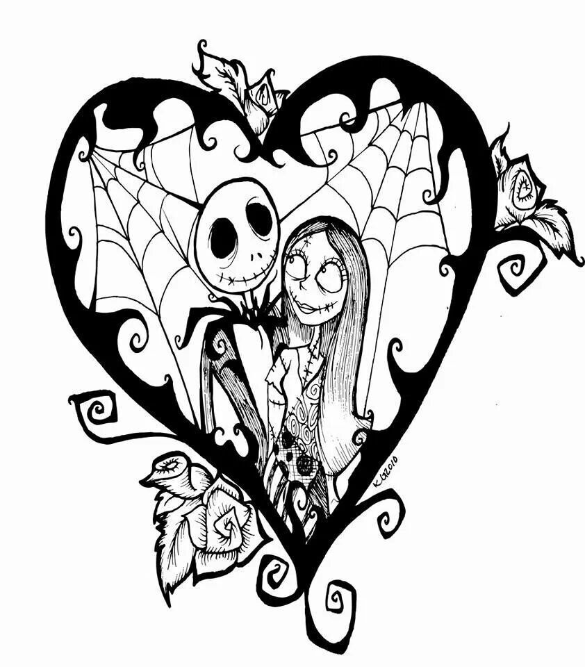 Nightmare Before Christmas drawing | Art | Pinterest | Christmas ...
