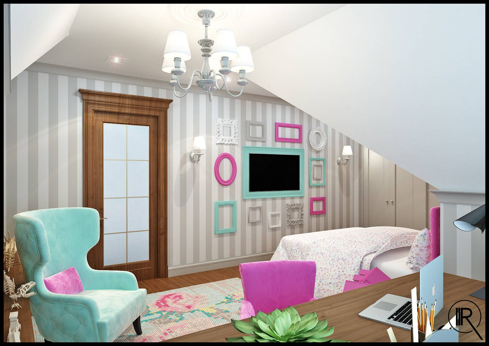 Rec maras infantiles de estilo por rash studio decoracion infantil dormitorios clasicos - Decoracion de dormitorios clasicos ...