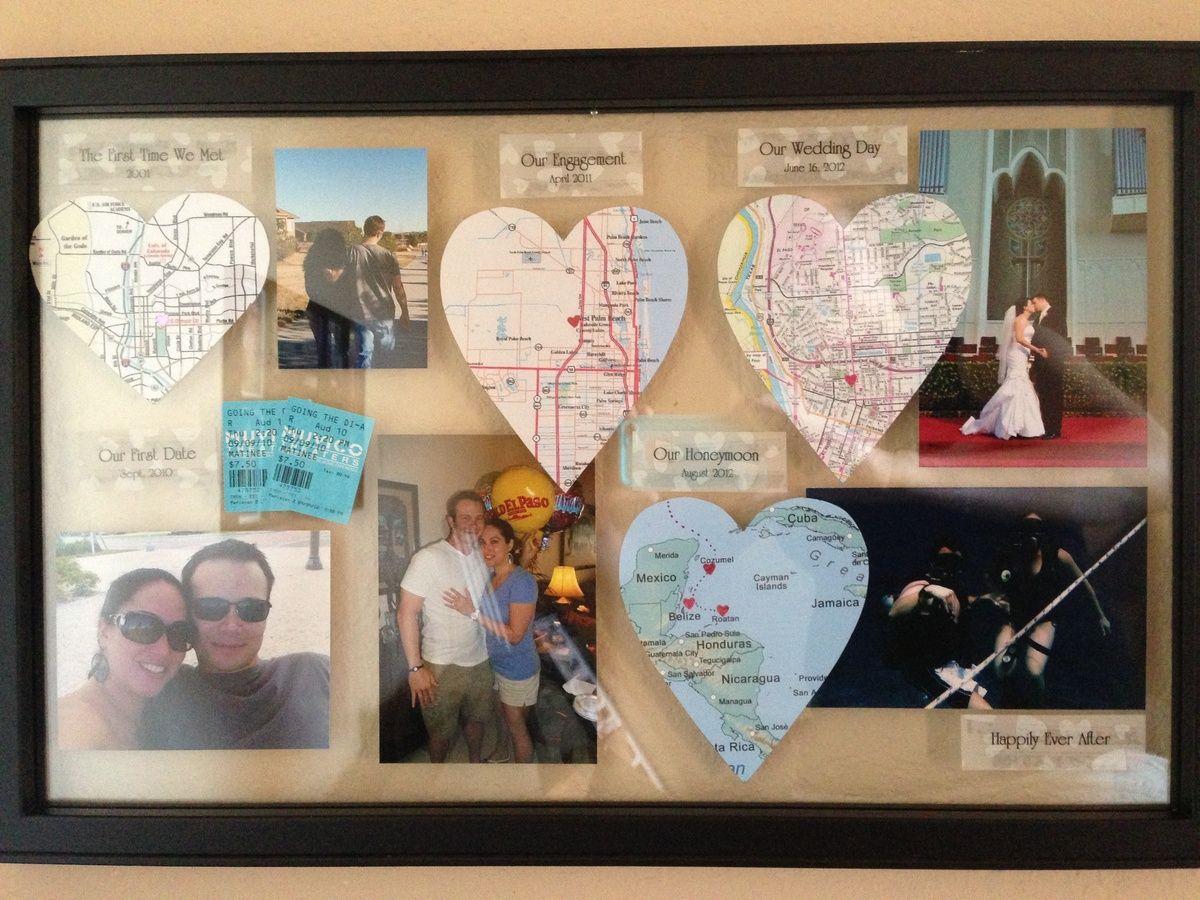 1 Year Wedding Anniversary Gift Ideas For Husband: Pin By Ashli Fleming Earle On DIY & Crafts