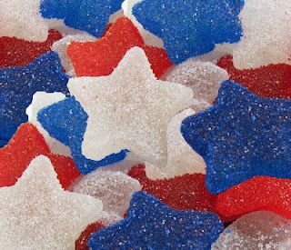 Hungry Happenings: Red, White, and Blue Gumdrops made in your home kitchen.