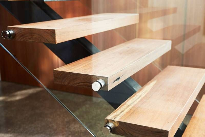 Solid Timber Stair Treads - Custom Made to Order Any Timber ...