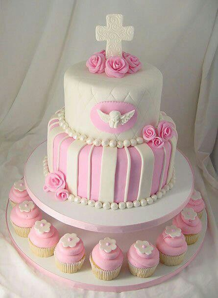 Pin von mari ngeles mandagar n auf cupcakes and cakes for Pinterest taufe