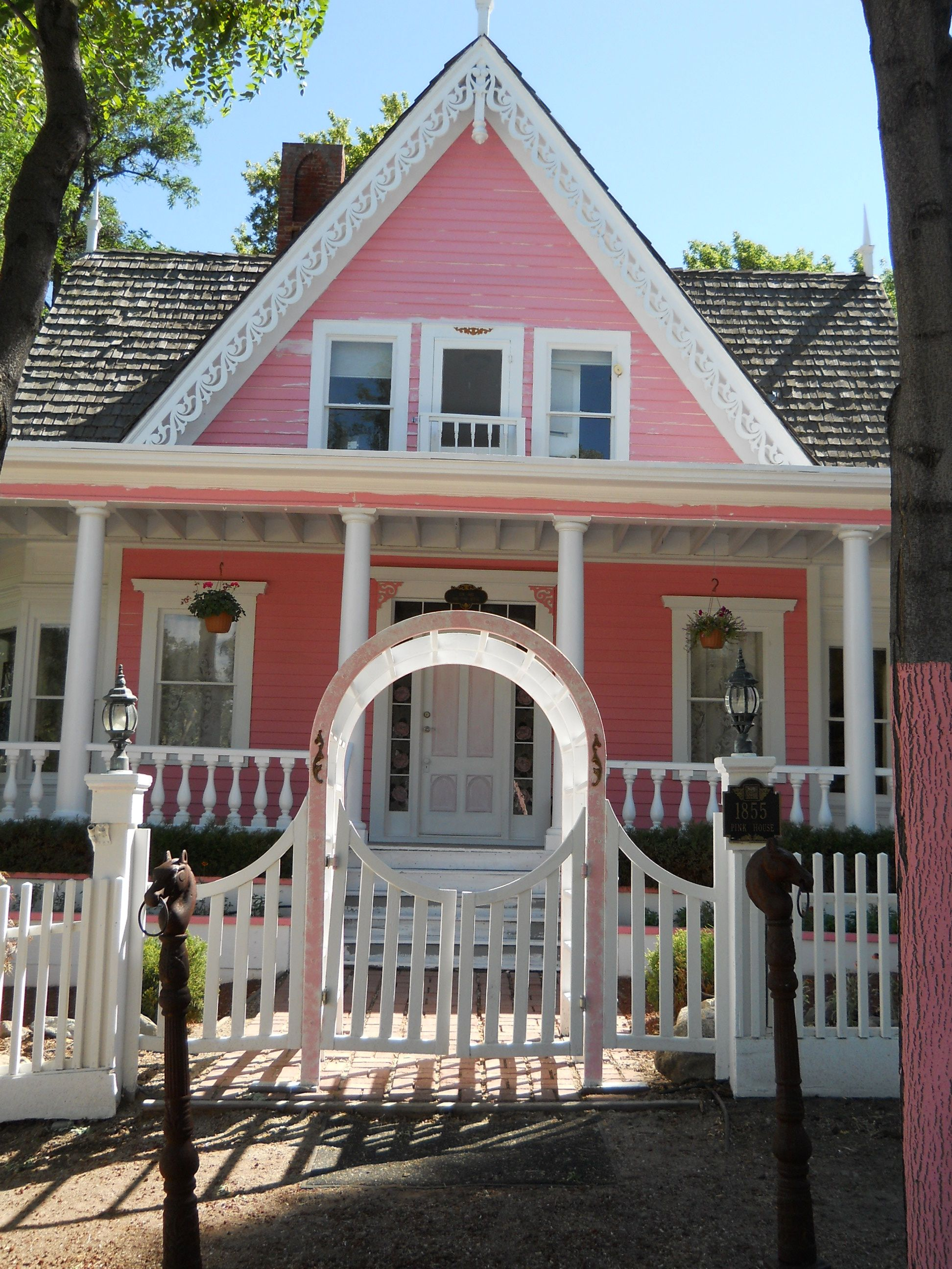 Thin Veil Investigators Pink Houses Painted Lady House Nevada California