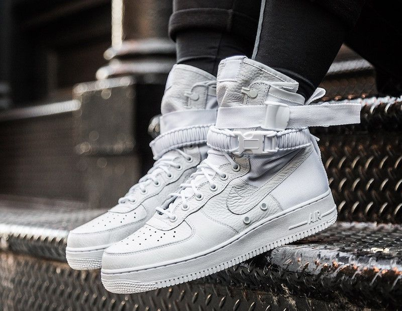 nike air force 1 af1 duck boot 3m summit white equinox