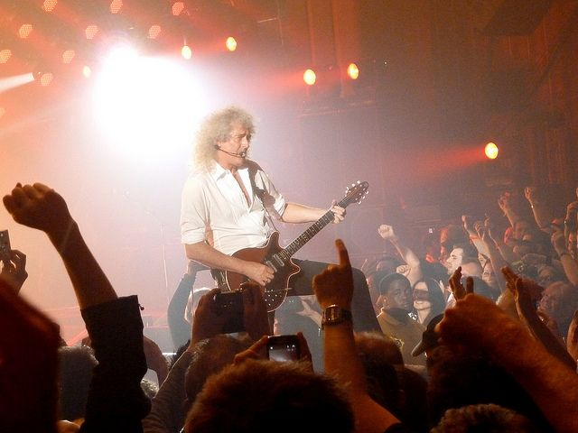 Brian May, London show, 12th July 2012 | Source: Mark Gledhill