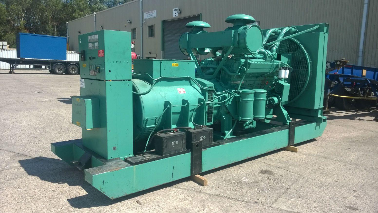 Buy Used Diesel Generators Like Perkins and FG Wilson and