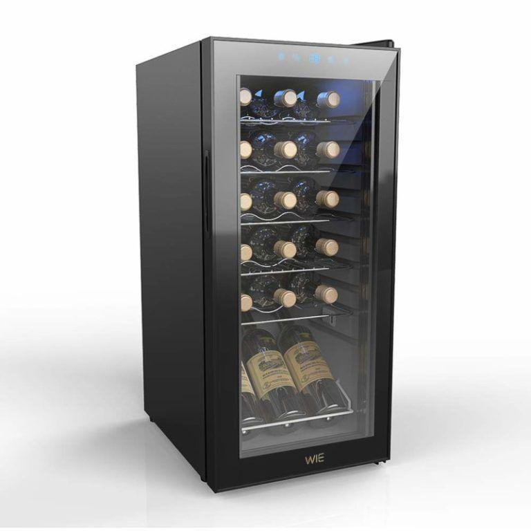 Best wine cellar with freestanding refrigerator design in