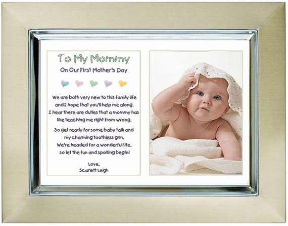 Add Photo Poetry Gifts First Communion Gift for Daughter or Son from Parents