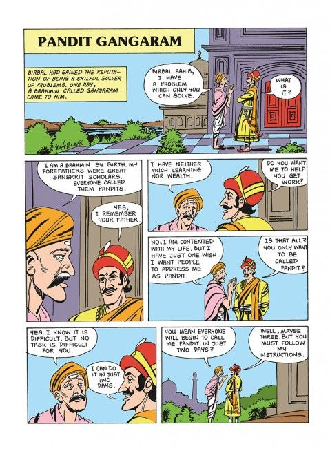 Akbar Birbal Comics In Hindi Pdf