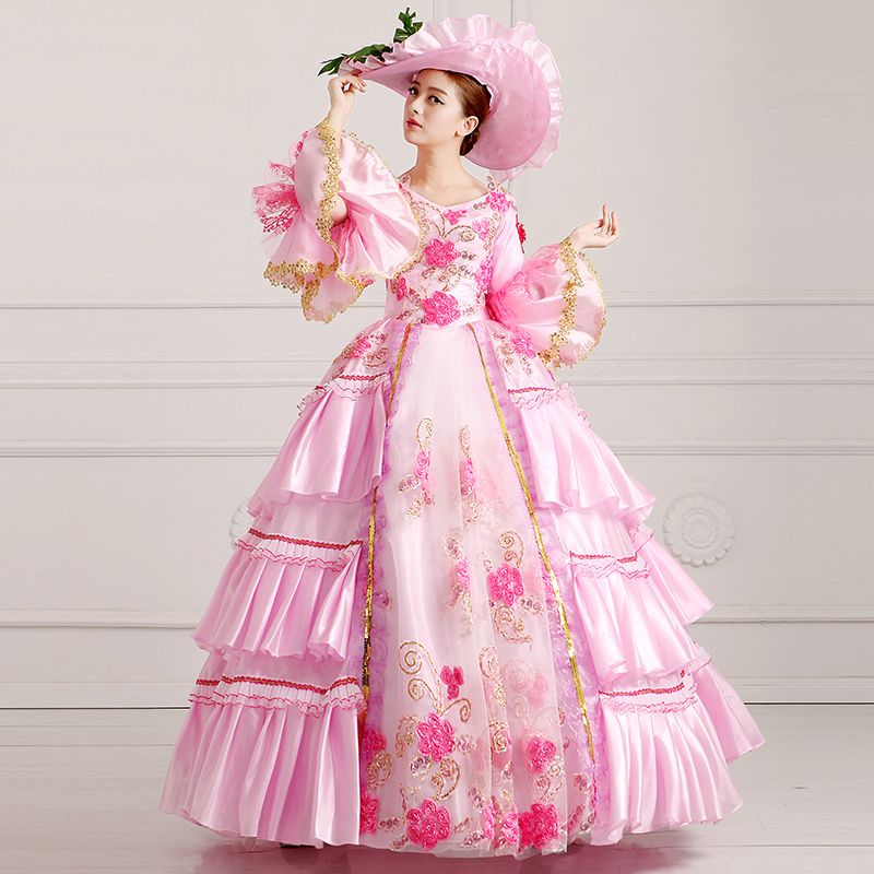 68575290e040 Princess Sissi & Marie Antoinette Dress Inspired Royal Ball Gowns Bridal Dress  Masquerade Ball Gown Party