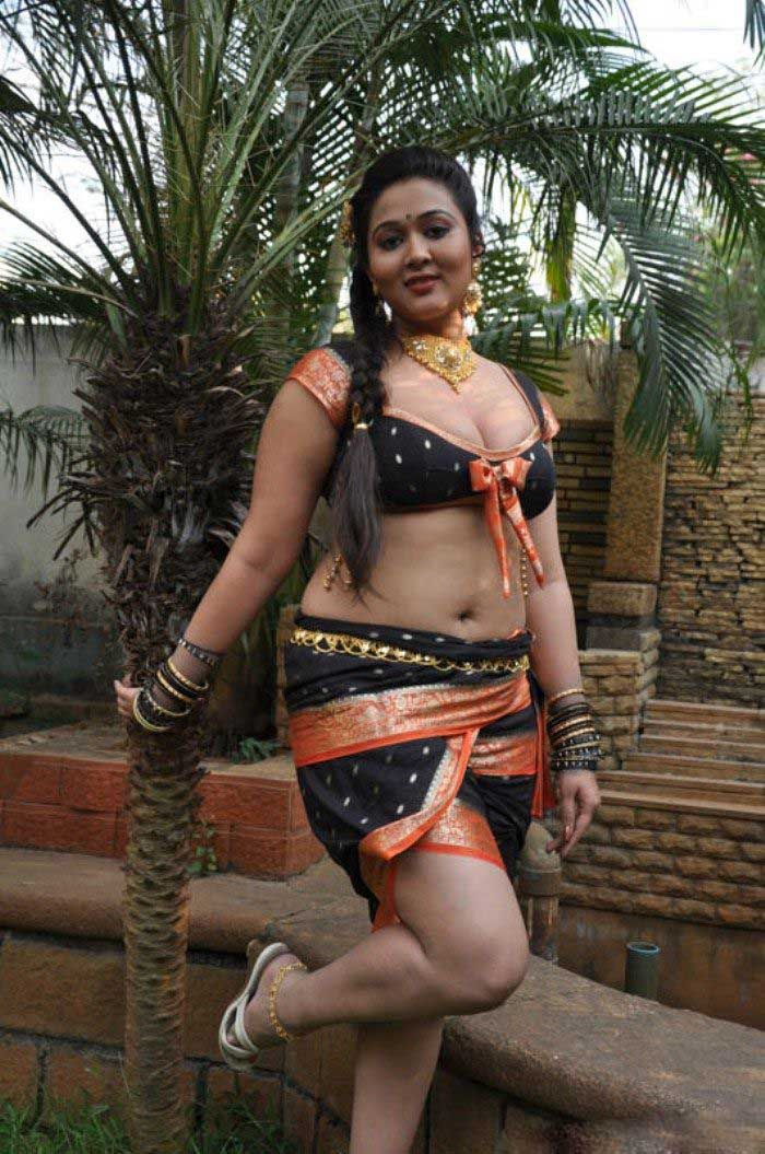 South Andhra Telugu Bbw Navel Hot Indian
