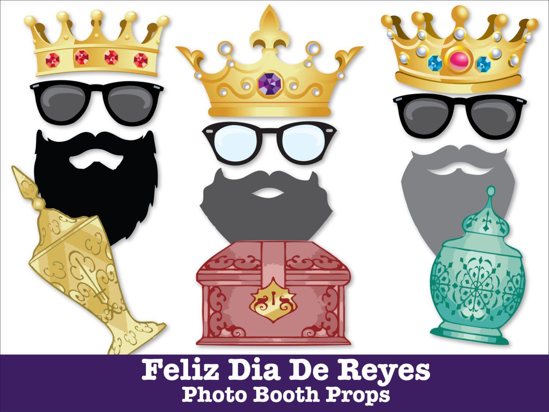 Feliz dia de reyes photo booth props 3 wise men day three wise men 3 kings cake nstant - Ideas para reyes ...