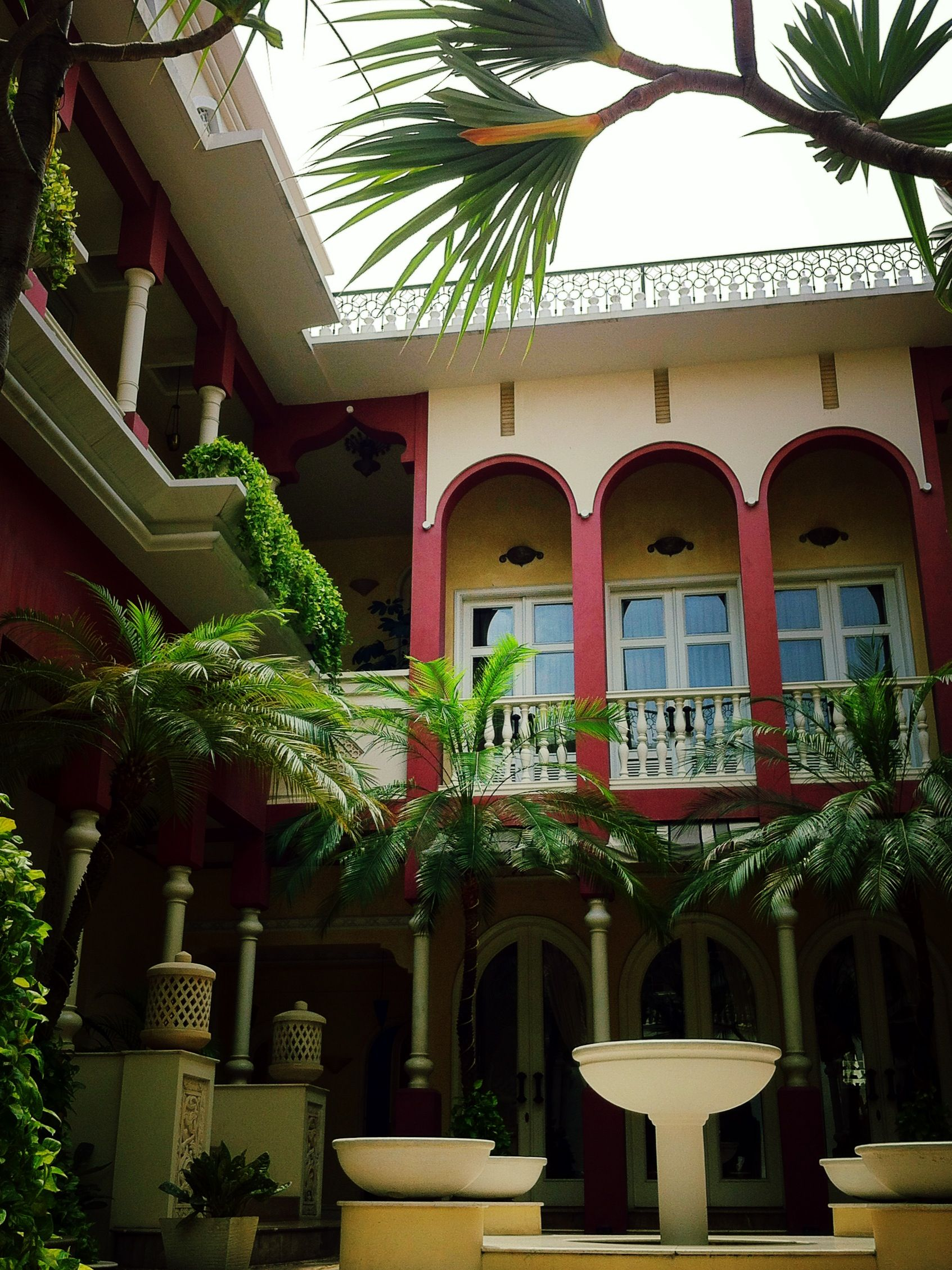 A Romantic Morning Rain At Riyad Area TerraceMaroco House Jakarta