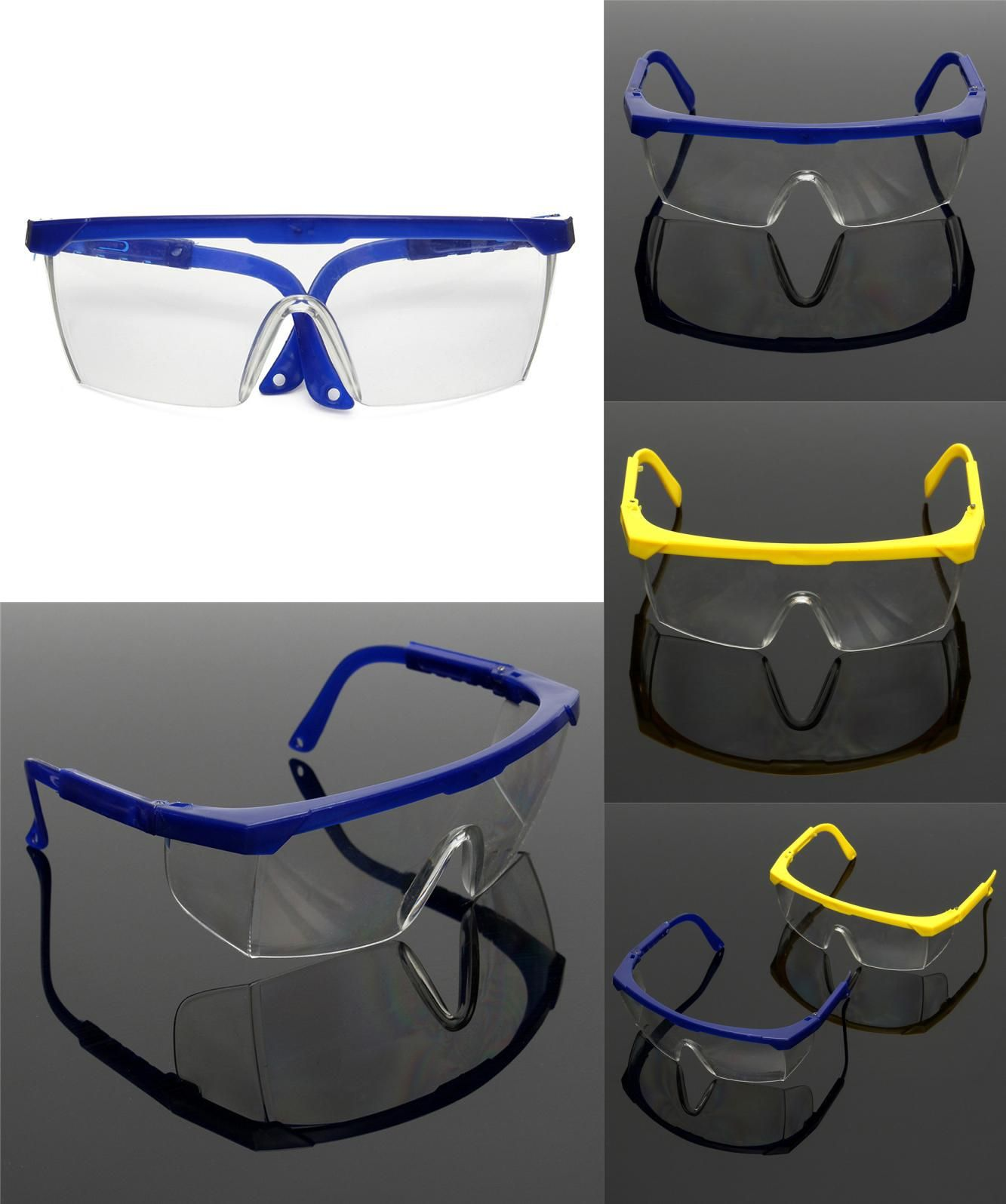 [Visit to Buy] Protective Glasses Blue and White Color