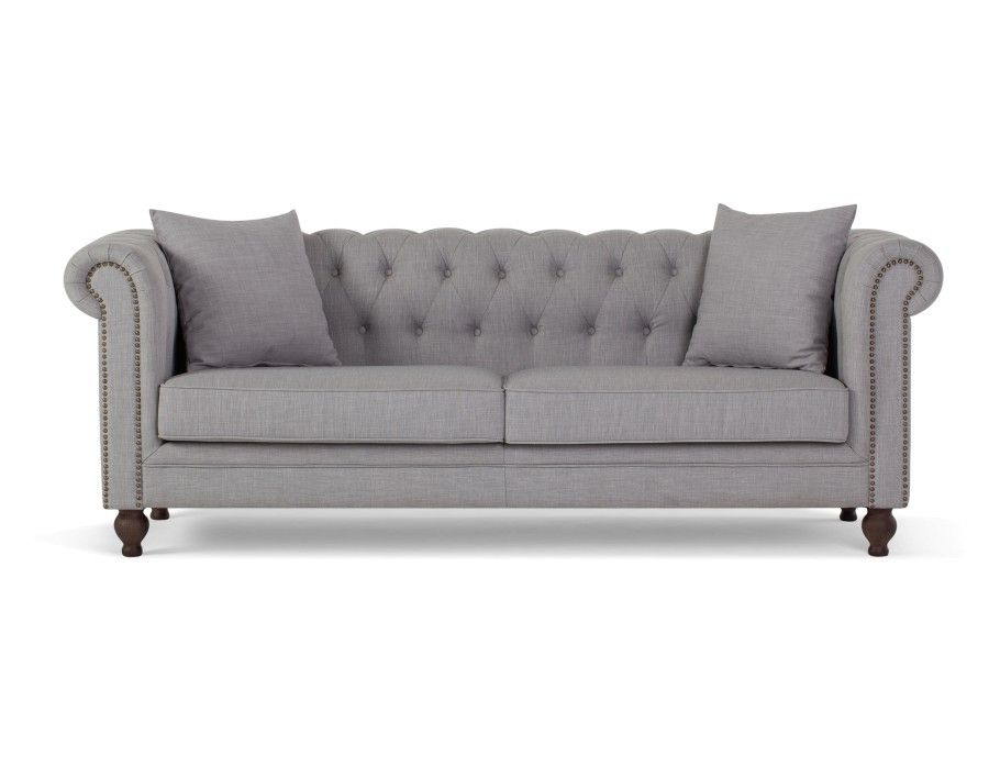 Arielle Light Grey 3 Seater Sofa In 2018 Dream House