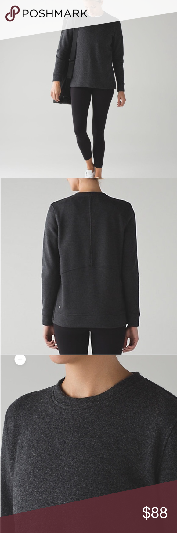 Lululemon Yes Fleece Pullover • Missing inside tag (came off when ...