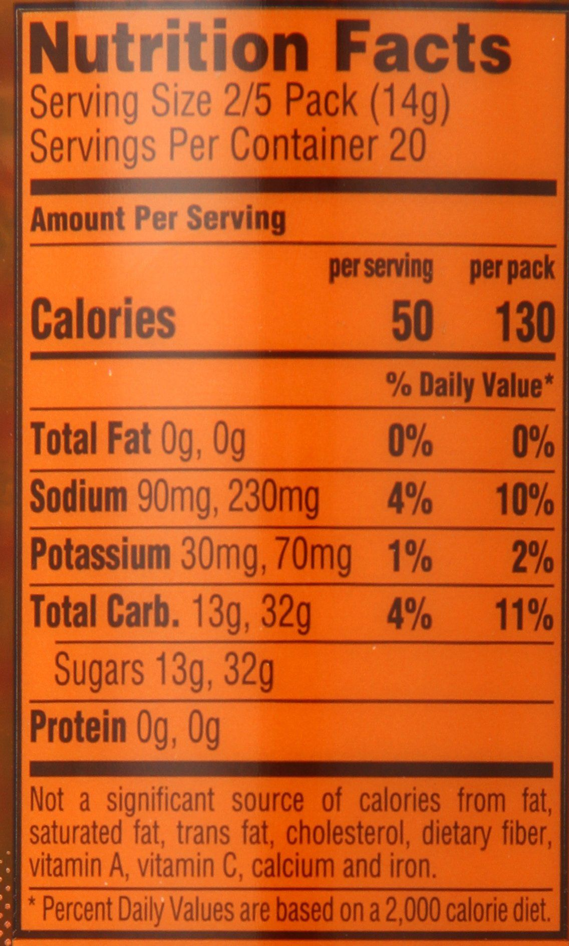 Gatorade Powder Sticks Orange Makes 20 Ounces Stick Pack Of 8 Details Can Be Found By Clicking On The Image This Sports Drink How To Make Nutrition Facts